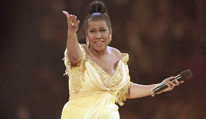 Η Aretha Franklin τραγουδά στην τελετή ανάληψης καθηκόντων της προεδρίας των ΗΠΑ, από τον Bill Clinton, 1993