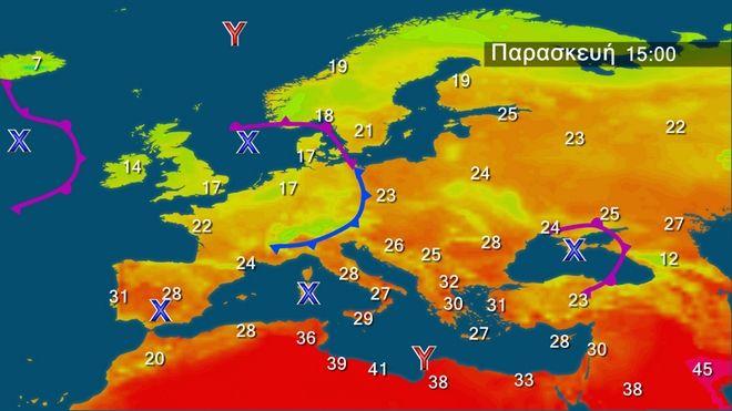 Λίγα φαινόμενα αστάθειας - Μέτριοι άνεμοι και υγρασία
