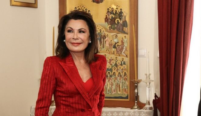 """Επίσκεψη της προέδρου της Επιτροπής """"Ελλάδα 2021"""" Γιάννας Αγγελοπούλου Δασκαλάκη στο Ηράκλειο Κρήτης"""