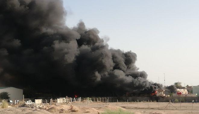 Ιράκ: Φωτιά σε αποθήκη με κάλπες από τις βουλευτικές εκλογές