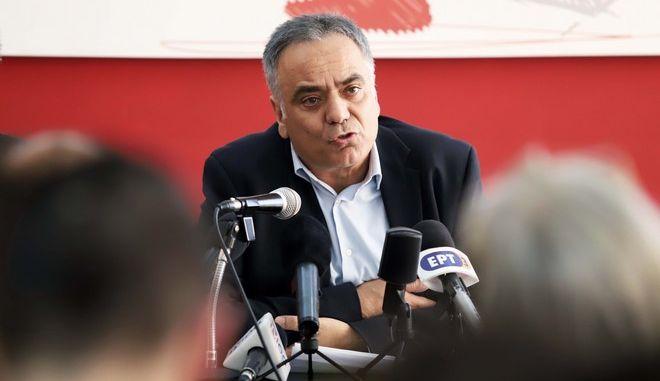 Ο γραμματέας της Κεντρικής Επιτροπής του ΣΥΡΙΖΑ Πάνος Σκουρλέτης