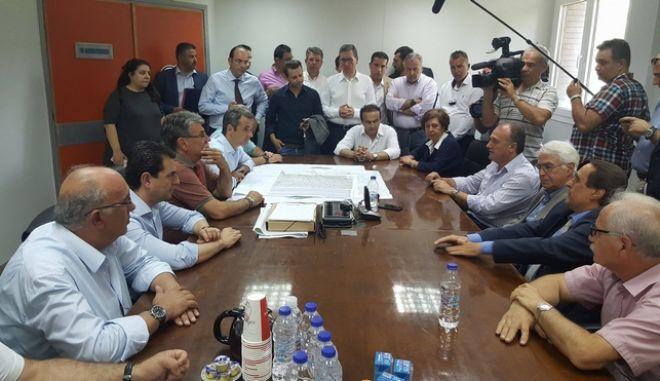 Σχέδιο μετεγκατάστασης των Αναργύρων και εξυγίανσης της ΔΕΗ ζήτησε ο Μητσοτάκης