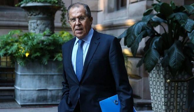 Ο υπουργός Εξωτερικών της Ρωσίας Σεργκέι Λαβρόφ