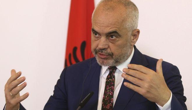 Ο Αλβανός πρωθυπουργός, Έντι Ράμα