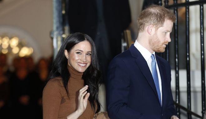 Ο Πρίγκιπας Χάρι και η Μέγκαν Μαρκλ