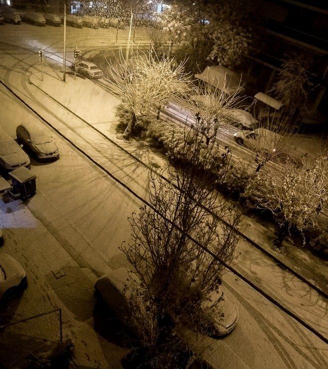Χιόνια στου Γκύζη