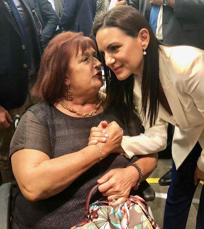 Η Όλγα Κεφαλογιάννη και η Μαριέττα Γιαννάκου