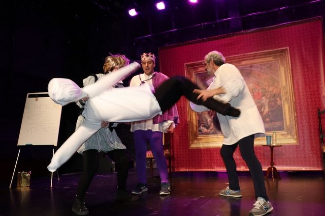 Το κοινό απόλαυσε όλους τους ήρωες του Σαίξπηρ να διαντιδρούν μοναδικά επί σκηνής