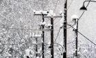 Χιόνια σε στύλους της ΔΕΗ (ΦΩΤΟ ΑΡΧΕΙΟΥ)