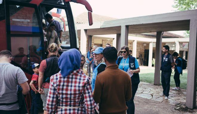 Η πρώην παιδόπολη Αγία Ελένη υποδέχεται τις πρώτες οικογένειες προσφύγων