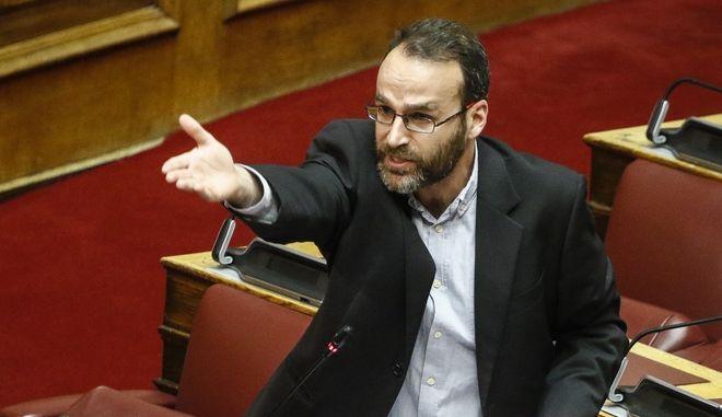 Ο βουλευτής ΚΚΕ, Γιάννης Γκιόκας