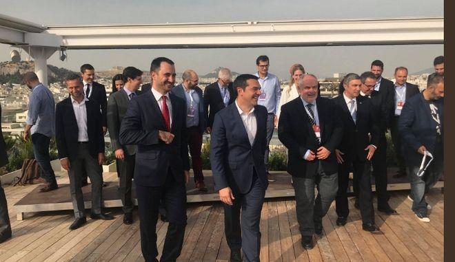 Συνάντηση Τσίπρα με εκπροσώπους των 9 fund managers του EquiFund