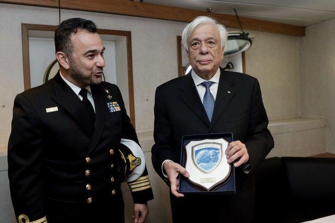 Μήνυμα Παυλόπουλου σε ΝΑΤΟ και ΕΕ για την εφαρμογή του Διεθνούς Δικαίου κατά την ονοματοδοσία του πλοίου