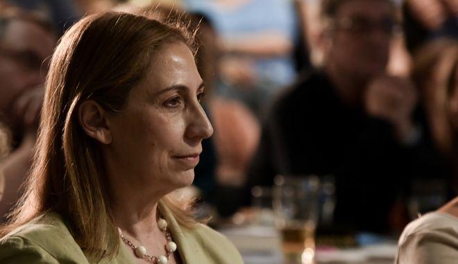 Η κοινοβουλευτική εκπρόσωπος του ΣΥΡΙΖΑ, Μαριλίζα Ξενογιαννακοπούλου