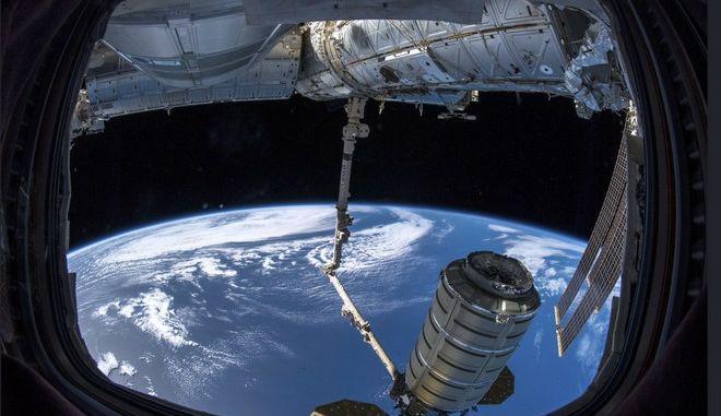 Εικόνα από το Διεθνή Διαστημικό Σταθμό τον Νοέμβριο του 2018