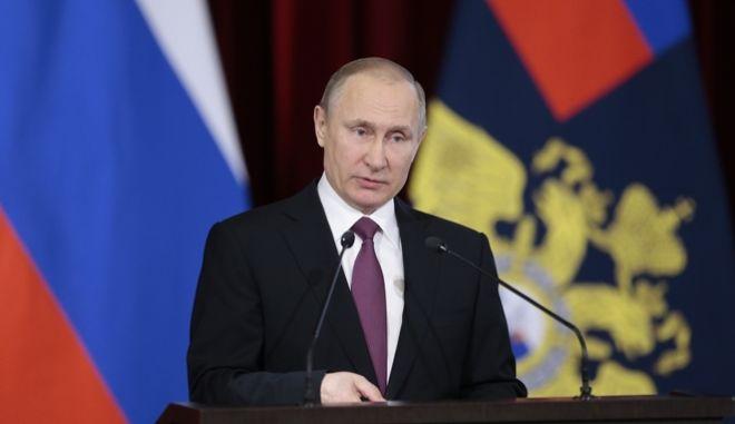 Ο πρόεδρος της Ρωσίας, Βλαντιμίρ Πούτιν.