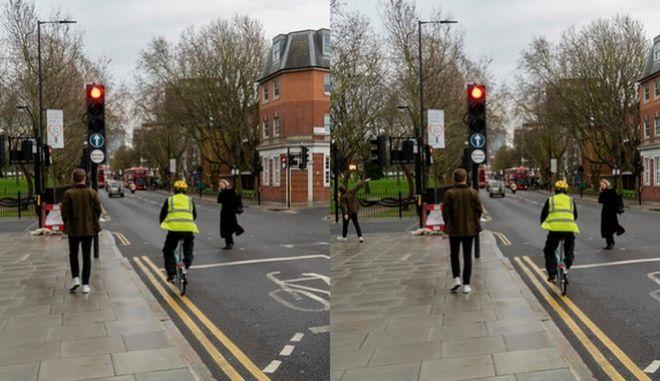 """Βρες τη διαφορά ανάμεσα στις δυο φωτογραφίες - Έρευνες δείχνουν ότι οι """"ποδηλάτες"""" οδηγοί αυτοκινήτων τη βρίσκουν πιο γρήγορα."""