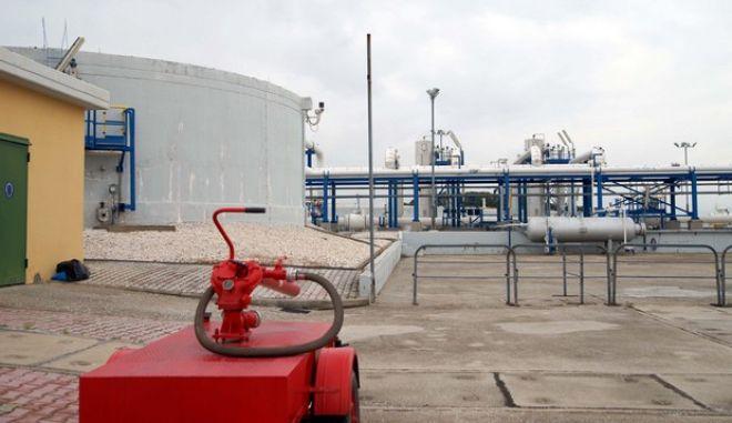 Εγκαταστάσεις Φυσικού Αερίου (φωτογραφία Αρχείου)