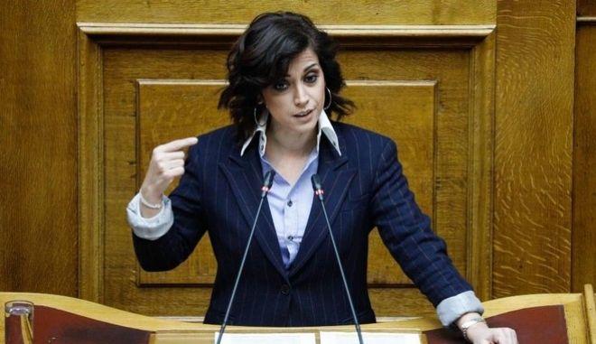 Η βουλευτής του ΣΥΡΙΖΑ, Ραλλία Χρηστίδου