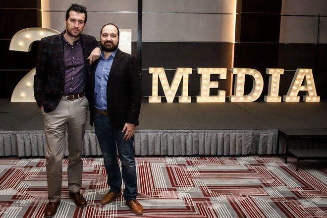 Από αριστερά: Μάνος Μίχαλος, Director of Content & Products και Μάνος Χωριανόπουλος, Διευθυντής Ειδήσεων & Ενημέρωσης