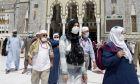 Διερχόμενοι στη Μέκκα υπό το φόβο του κορονοϊού