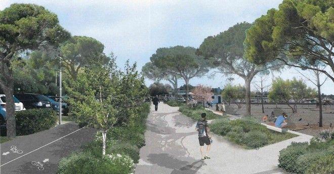 Η παραλία Γλυφάδας ετοιμάζεται για ριζική ανάπλαση
