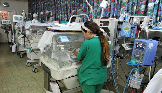 Μονάδα νεογνών σε νοσοκομείο, Αρχείο