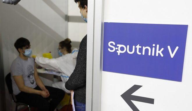 Εμβολιασμός με το Sputnik-V στη Ρωσία