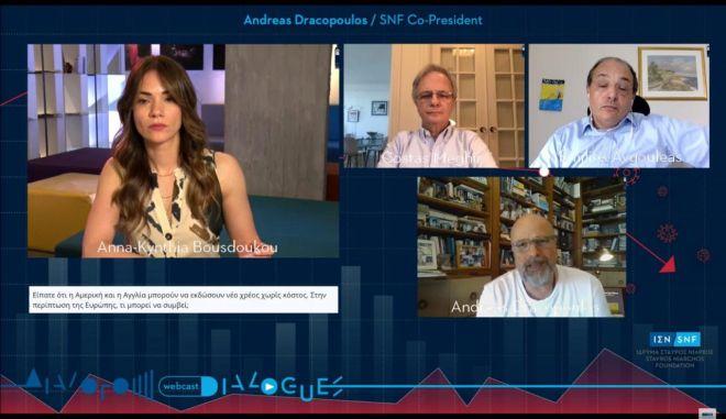 Η οικονομία σε πρόκληση: Οι ΔΙΑΛΟΓΟΙ του Ιδρύματος Σταύρος Νιάρχος (ΙΣΝ) σε μια συζήτηση για τις οικονομικές επιπτώσεις του COVID-19 και την επόμενη ημέρα