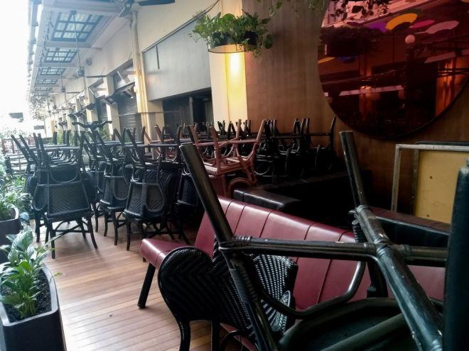 Κλειστά εστιατόρια στην Αθήνα της πανδημίας