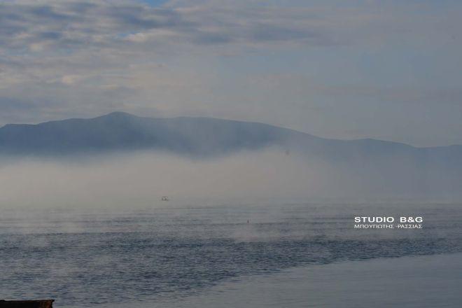 Θαλάσσια ομίχλη: Όταν η θάλασσα φαίνεται να βράζει