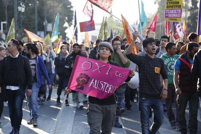 ΑΘΗΝΑ-Συλλαλητήριο σήμερα Σάββατο 18 Μάρτη στην Ομόνοια στις 3μμ «στα πλαίσια της διεθνούς κινητοποίησης κατά του ρατσισμού, του φασισμού, του πολέμου και της φτώχειας», από κοινωνικές και πολιτικές οργανώσεις, αντιρατσιστικές κινήσεις, αυτοδιοικητικές κινήσεις και άλλους φορείς.(Eurokinissi-ΣΤΕΛΙΟΣ ΜΙΣΙΝΑΣ)