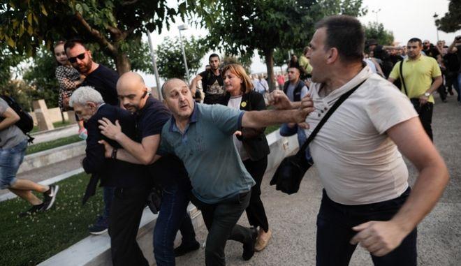 Επίθεση ακροδεξιών κατά του Δημάρχου Θεσσαλονίκης Γιάννη Μπουτάρη