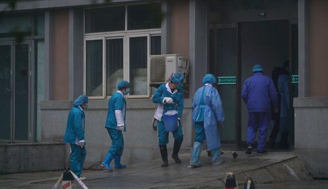 Κρούσμα νέου κοροναϊού σε νοσοκομείο της Κίνας