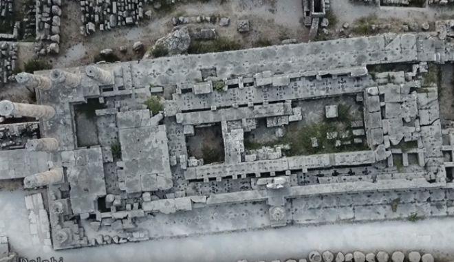 Drone: Ο 'ομφαλός της γης', οι Δελφοί, σε ένα βίντεο που κόβει την ανάσα