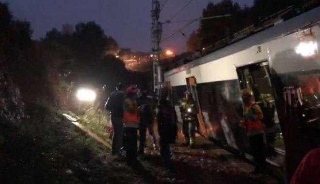 Καταλονία: Εκτροχιασμός τρένου - Ένας νεκρός πολλοί τραυματίες