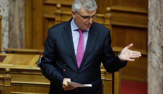 Ο υφυπουργός Εργασίας, Παναγιώτης Τσακλόγλου