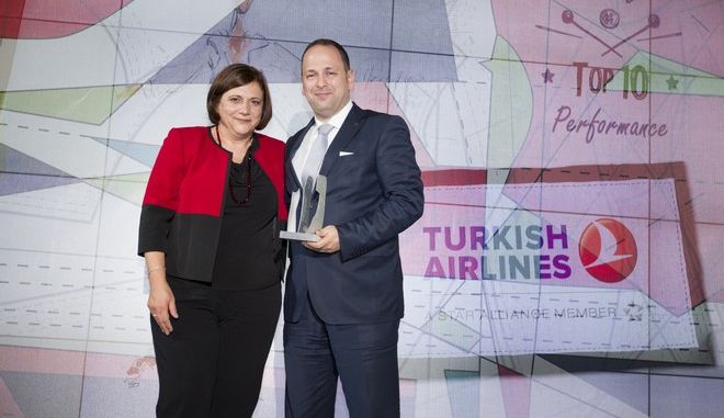 Κορυφαίες διακρίσεις για την Turkish Airlines