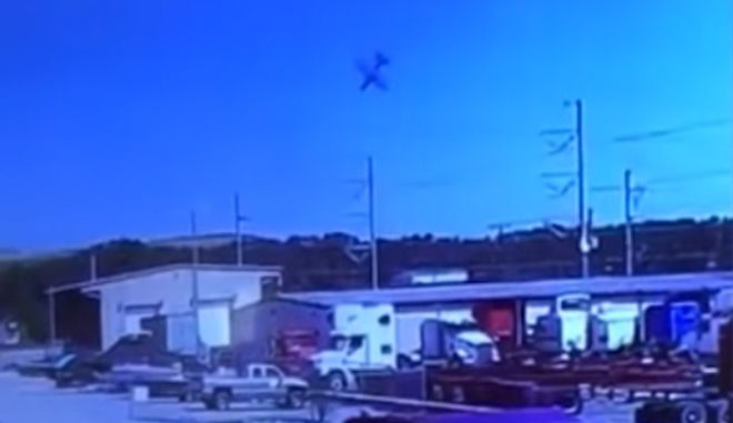 Βίντεο ντοκουμέντο: Η στιγμή της συντριβής του C-130 στην Τζόρτζια