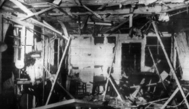 Φωτογραφία από την απόπειρα δολοφονίας κατά του Χίτλερ, στις 20 Ιουλίου του 1944