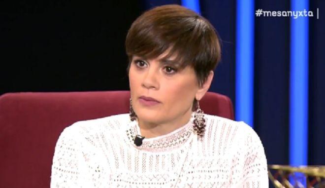 Η Άννα Μαρία Παπαχαραλάμπους στα Μεσάνυχτα