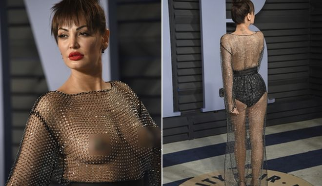 Η Bleona έσπασε τον κανόνα: Πήγε 'γυμνή' στα Όσκαρ