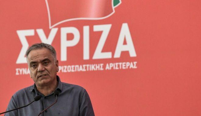 Ο γραμματέας της ΚΕ του ΣΥΡΙΖΑ Πάνος Σκουρλέτης