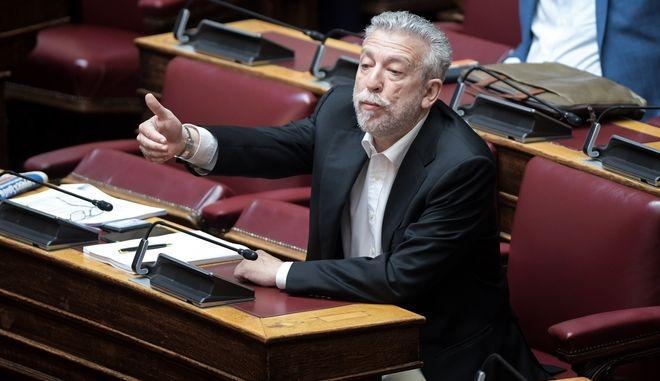 Ο πρώην υπουργός Δικαιοσύνης, Σταύρος Κοντονής