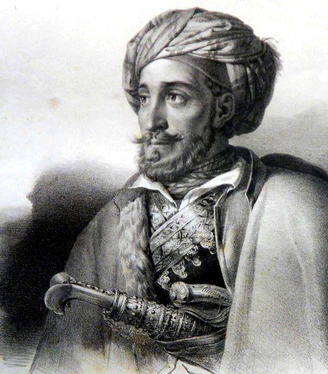 Ο Ιωάννης Μακρυγιάννης (1797-1864).
