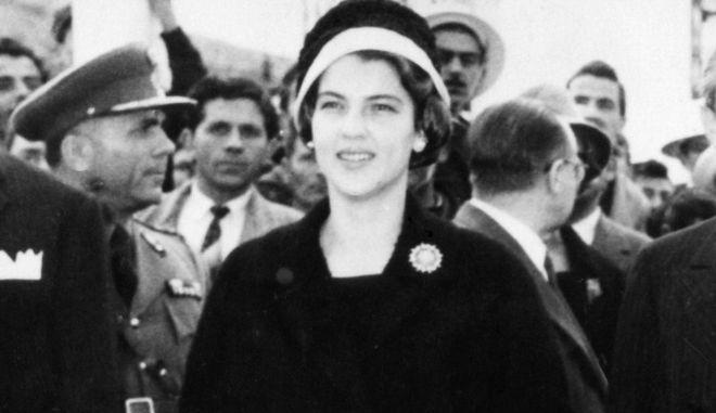 Η Αμαλία Μεγαπάνου, το 1960.