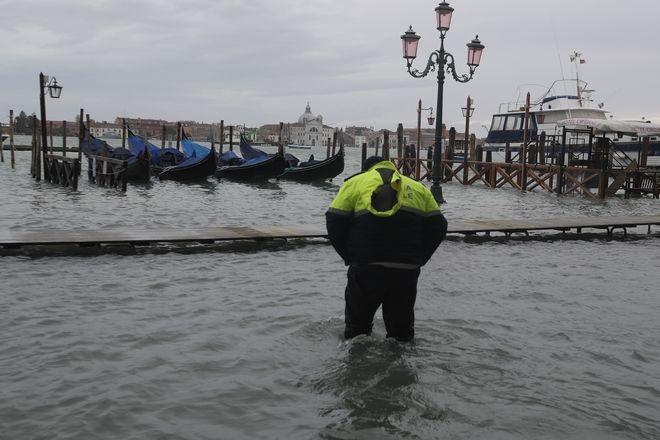 Η Βενετία πλημμυρισμένη