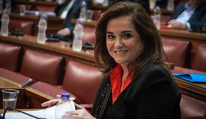 Η πρώην υπουργός της ΝΔ Ντόρα Μπακογιάννη