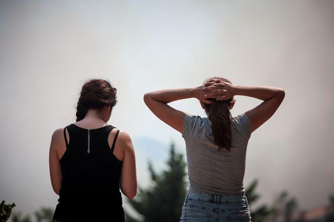Για 2η ημέρα οι πυροσβεστικές δυνάμεις συνεχίζουν την μάχη για την κατάσβεση της μεγάλης πυρκαγιάς στην Εύβοια.