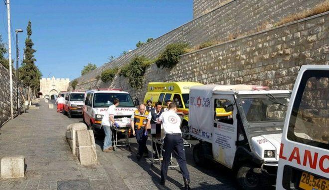 Ένοπλη επίθεση στην παλιά πόλη της Ιερουσαλήμ